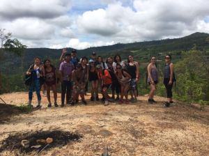 HoT 2016 on our all-day trek in the Thai countryside